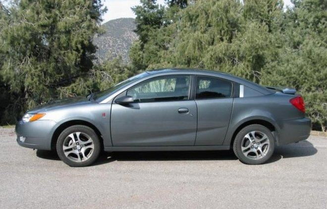 Left Side Gray 2005 Saturn Ion Car Picture