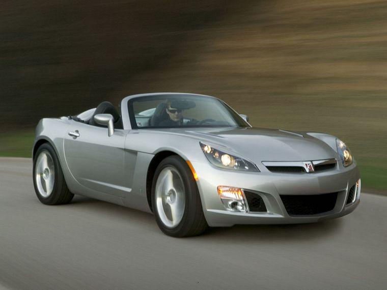 Front Right Gray 2007 Saturn Sky Car Picture