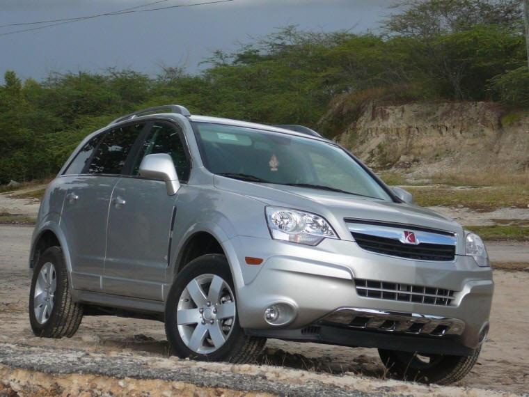 2008 Saturn VUE Front Right SUV Picture