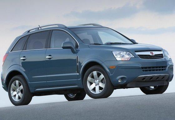 Front Right 2008 Saturn Vue SUV Picture