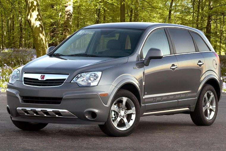 Front left 2009 Saturn Vue Hybrid Car Picture