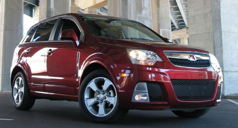 Front Right 2009 Saturn Vue CUV Picture