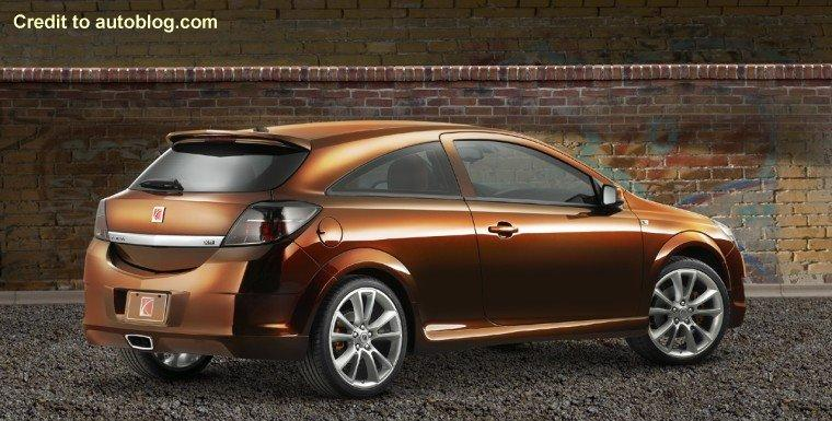 2008 Saturn Astra Tuner Concept Rear RIght Car Picture