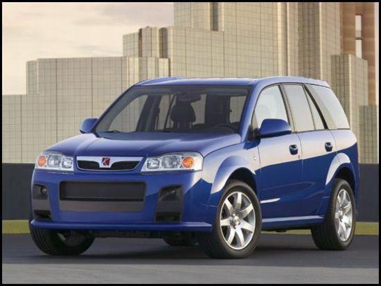 Front left blue 2006 Saturn Vue Car Picture