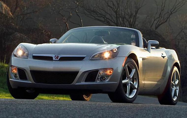 Front Left 2008 Saturn Sky Car Picture