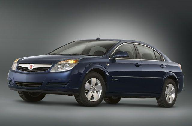 2008 Saturn Aura Greenline Front left Car Picture