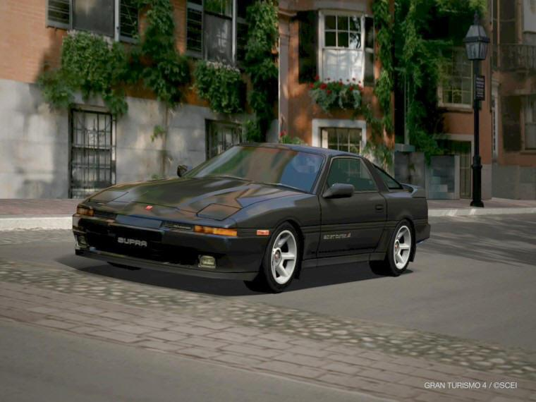 Front left 1988 Toyota Supra Turbo Car Picture