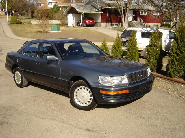 1990 Toyota Celsior Front Right Car Picture