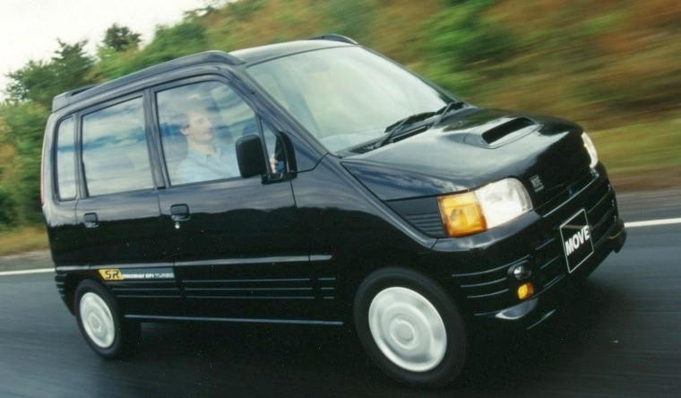 Front Right Black 1996 Toyta Daihatsu Move SUV Picture