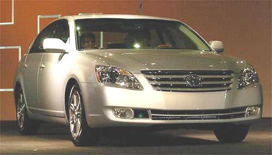 Front right biege 2006 Toyota Avalon Car Picture