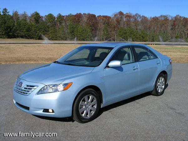 Front left blue 2007 Toyota Camry XLE Car Picture