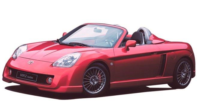 Toyota MR2 Turbo Front left Concept Car Picture