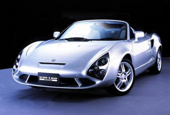 Front left Toyota MR2 Concept Car Picture