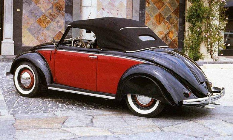 1950 Volkswagen Hebuller Roadster Car Pictue