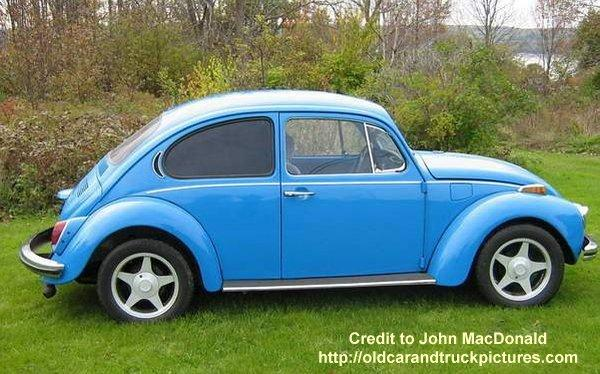 1972 Volkswagen Super Beetle Right Side Car Picture