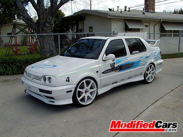 Front Left 1997 Volkswagen Modified Jetta Car Picture