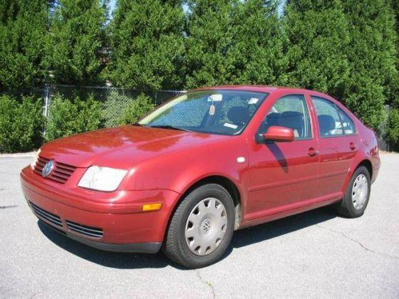 Front left red 2000 Volkswagen Jetta Car Picture