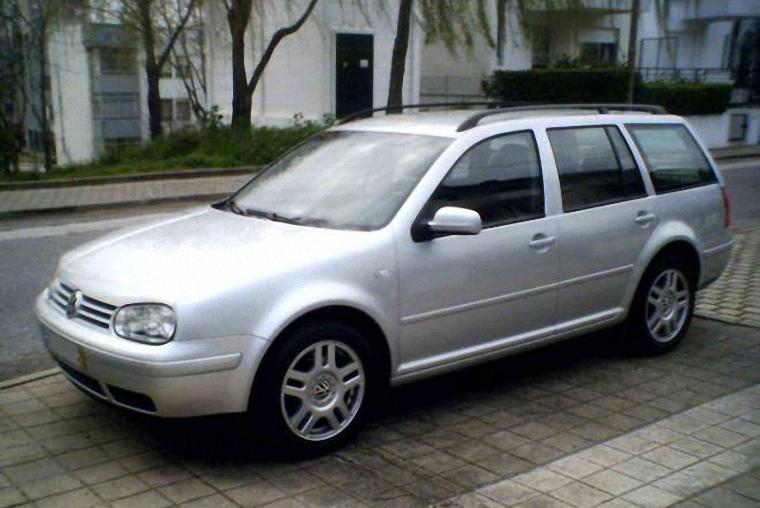 2002 Volkswagen Golf Wagon Picture