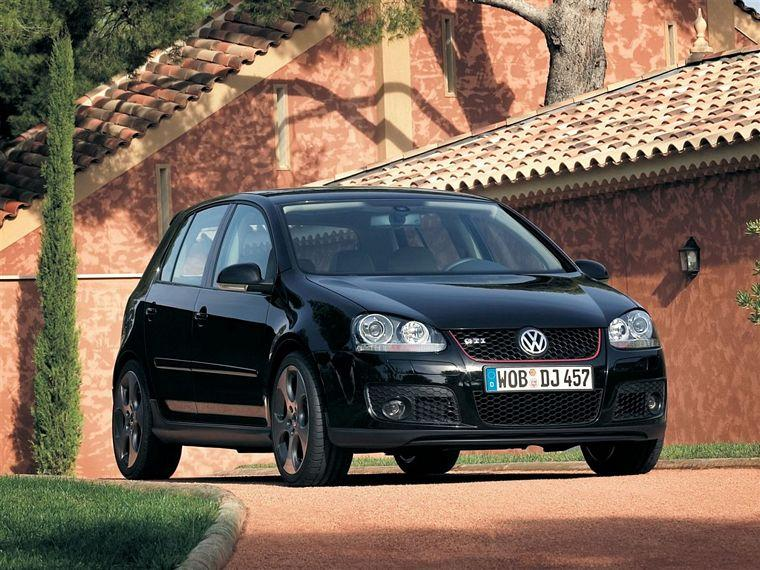 Front right black 2006 Volkswagen Golf GTI Car Picture