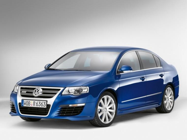 Front Left Blue 2007 Volkswagen Passat Car Picture