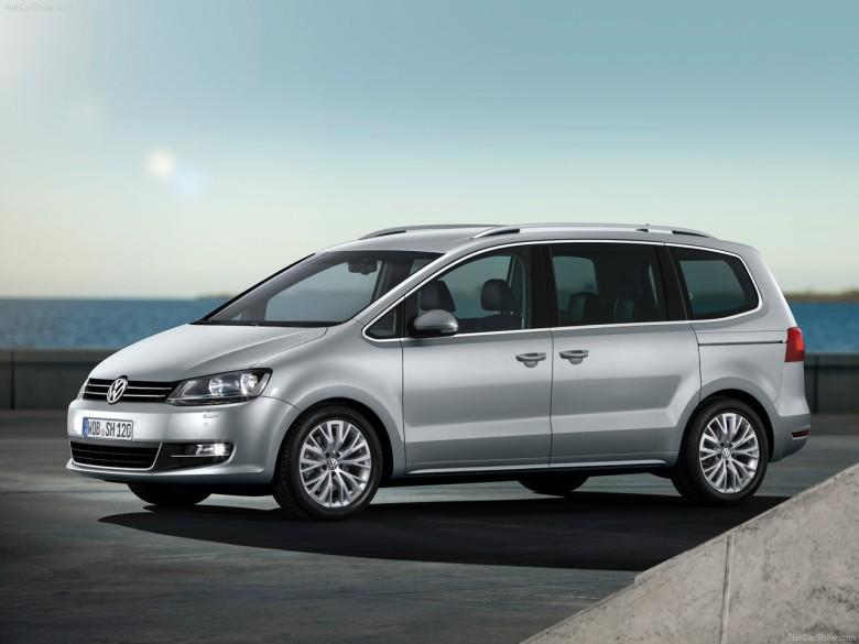 Front Left 2011 Volkswagen Sharan CUV Picture