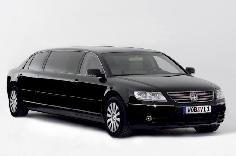 Front right black 2005 Volkswagen Phaeton Lounge Car Picture