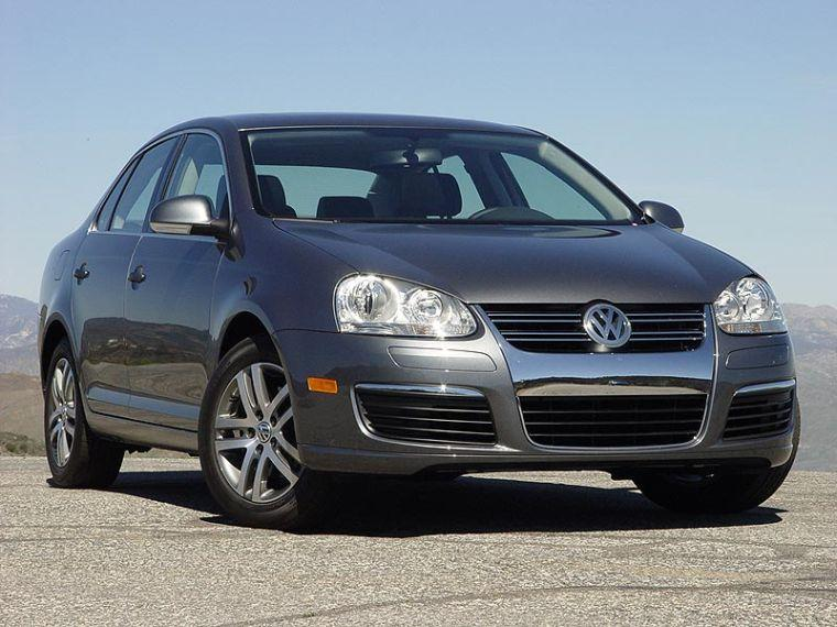 Front right black 2006 Volkswagen Jetta Car Picture