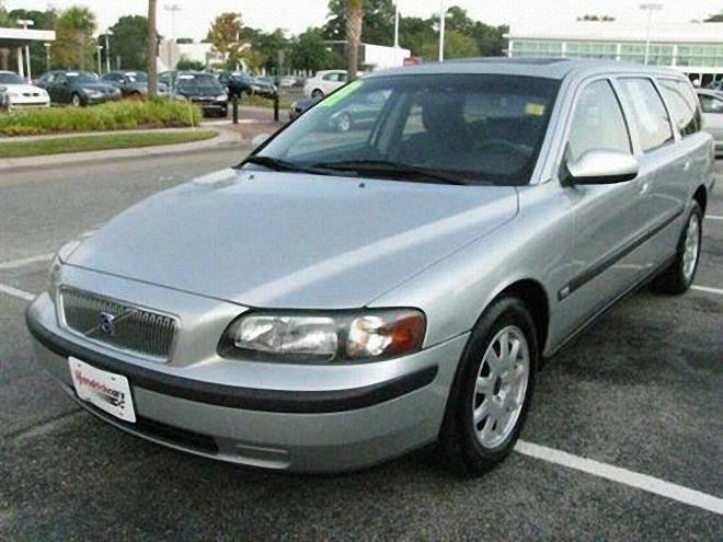 Silver 2002 Volvo V70 Station Wagon Photo | Volvo Car Pictures