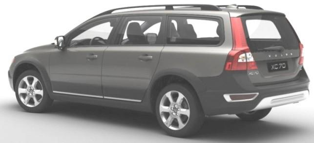 Rear left 2008 Volvo XC70 Wagon Picture