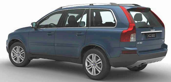 Rear left 2008 Volvo XC90 Wagon Picture