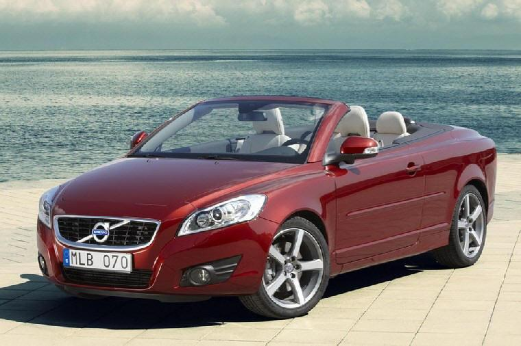 Front Left 2010 Volvo C70 Convertible Car Picture