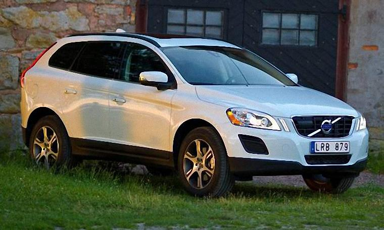 Front Right 2011 Volvo XC60 CUV Picture