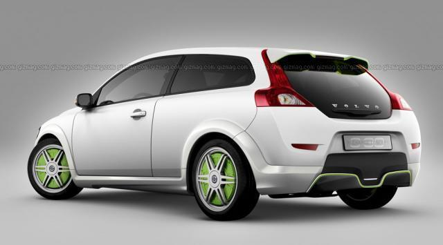 2007 Volvo Recharge Rear left Concept Car Picture