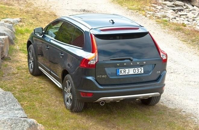 Rear Left Dark Blue 2010 Volvo XC60 SUV Picture