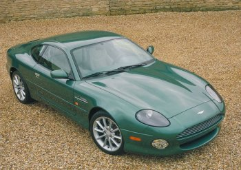 Aston Martin Top View Picture